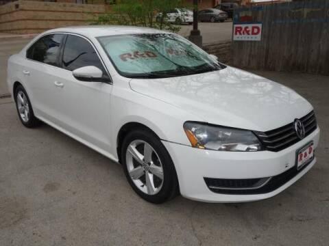 2012 Volkswagen Passat for sale at R & D Motors in Austin TX