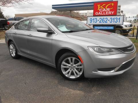 2015 Chrysler 200 for sale at KC Car Gallery in Kansas City KS