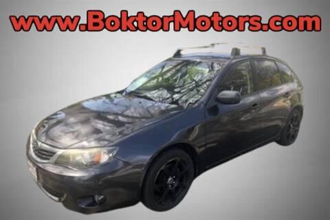 2008 Subaru Impreza for sale at Boktor Motors in North Hollywood CA