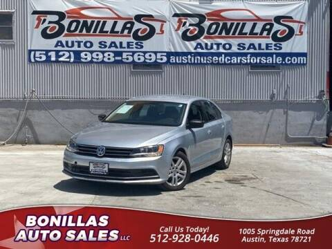 2015 Volkswagen Jetta for sale at Bonillas Auto Sales in Austin TX