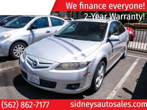 2006 Mazda MAZDA6 for sale at Sidney Auto Sales in Downey CA