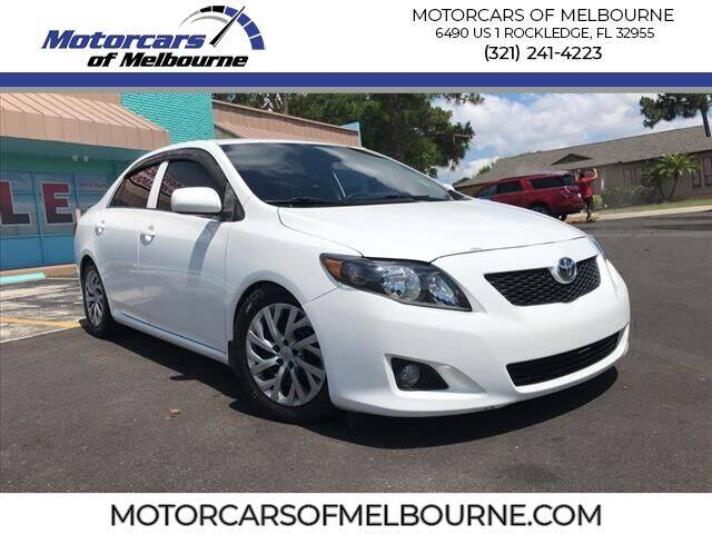 2009 Toyota Corolla for sale at Motorcars of Melbourne in Rockledge FL