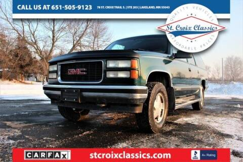 1995 GMC Suburban for sale at St. Croix Classics in Lakeland MN