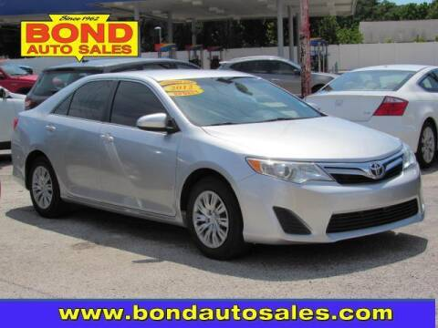 2012 Toyota Camry for sale at Bond Auto Sales in Saint Petersburg FL