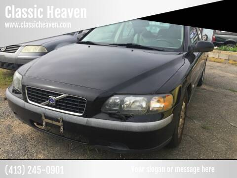 2002 Volvo S60 for sale at Classic Heaven Used Cars & Service in Brimfield MA