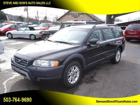 2007 Volvo XC70 for sale at Steve & Sons Auto Sales in Happy Valley OR