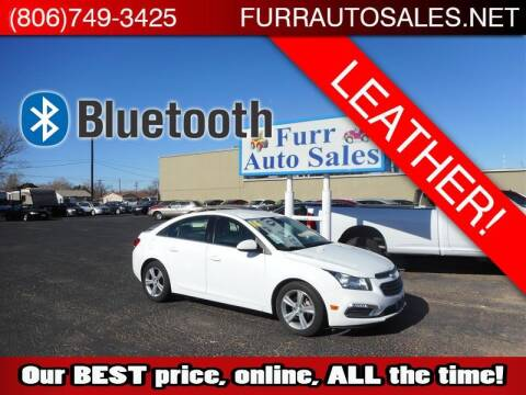 2016 Chevrolet Cruze Limited for sale at FURR AUTO SALES in Lubbock TX