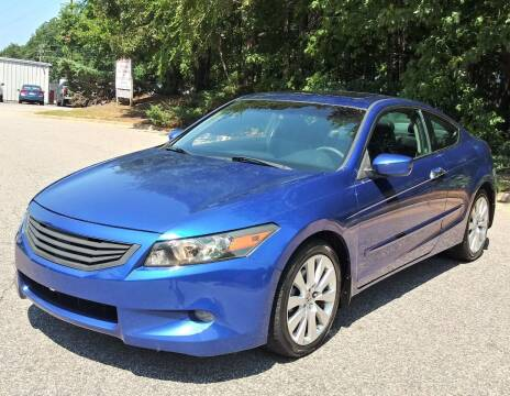 2008 Honda Accord for sale at Weaver Motorsports Inc in Cary NC