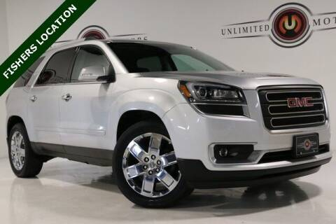 2017 GMC Acadia Limited for sale at Unlimited Motors in Fishers IN
