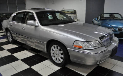 2010 Lincoln Town Car for sale at Podium Auto Sales Inc in Pompano Beach FL
