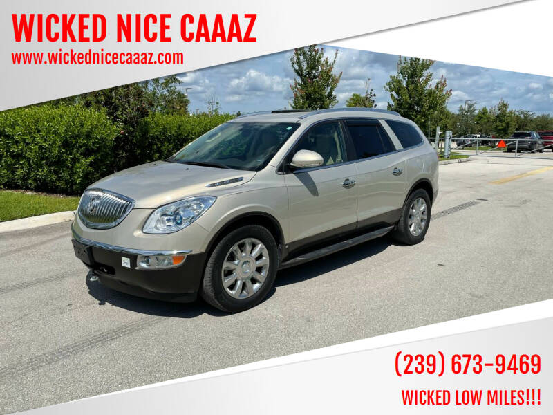 2011 Buick Enclave for sale at WICKED NICE CAAAZ in Cape Coral FL