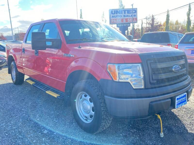 2014 Ford F-150 for sale at United Auto Sales in Anchorage AK