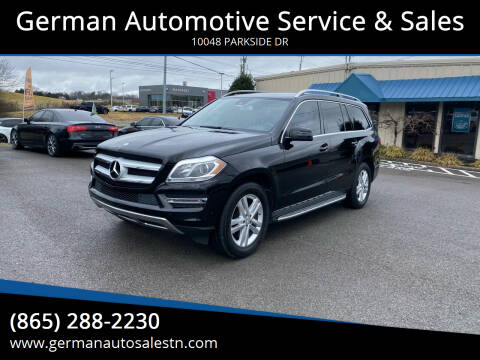 2014 Mercedes-Benz GL-Class for sale at German Automotive Service & Sales in Knoxville TN