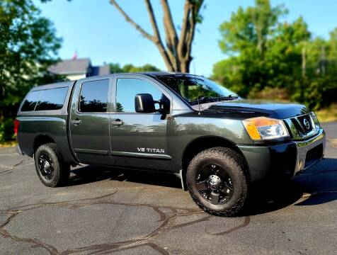 2008 Nissan Titan for sale at Flying Wheels in Danville NH