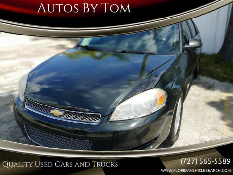 2013 Chevrolet Impala for sale at Autos by Tom in Largo FL