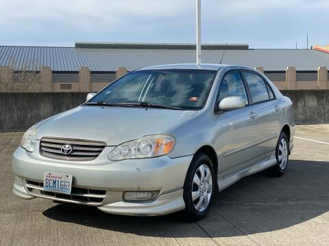2004 Toyota Corolla for sale at Rave Auto Sales in Corvallis OR