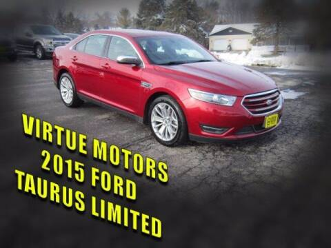 2015 Ford Taurus for sale at Virtue Motors Used in Darlington WI