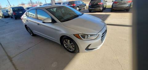 2018 Hyundai Elantra for sale at Divine Auto Sales LLC in Omaha NE