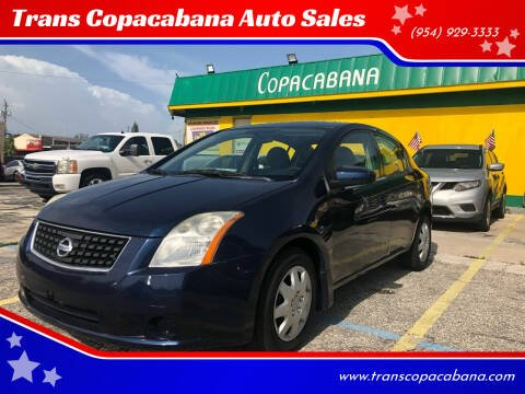 2008 Nissan Sentra for sale at Trans Copacabana Auto Sales in Hollywood FL