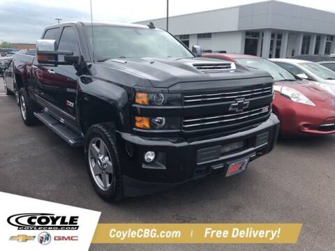 2018 Chevrolet Silverado 2500HD for sale at COYLE GM - COYLE NISSAN in Clarksville IN
