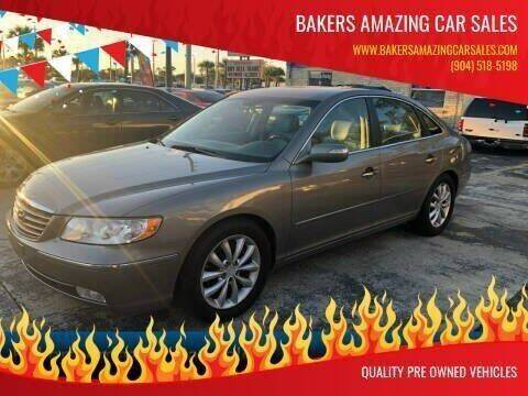 2008 Hyundai Azera for sale at Bakers Amazing Car Sales in Jacksonville FL
