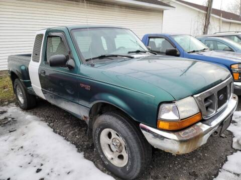 2000 Ford Ranger for sale at CRYSTAL MOTORS SALES in Rome NY