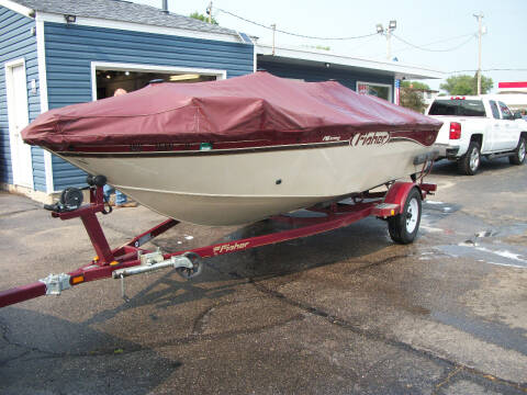 2002 Fischer Pro Avenger 16 for sale at USED CAR FACTORY in Janesville WI