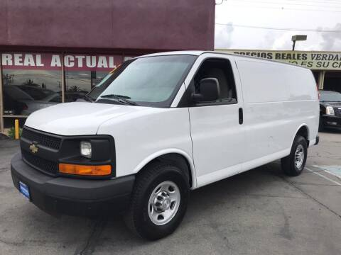 2015 Chevrolet Express Cargo for sale at Sanmiguel Motors in South Gate CA