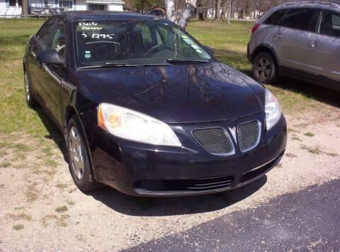 2007 Pontiac G6 for sale at LAKESIDE MOTORS LLC in Houghton Lake MI