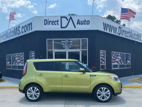 2016 Kia Soul for sale at Direct Auto in D'Iberville MS