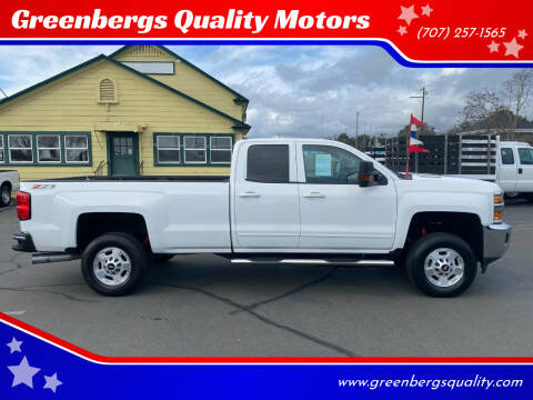 2015 Chevrolet Silverado 2500HD for sale at Greenbergs Quality Motors in Napa CA