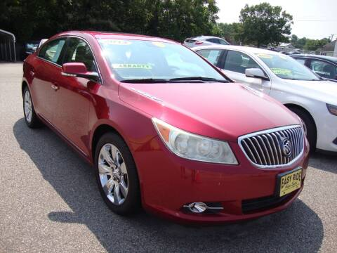 2013 Buick LaCrosse for sale at Easy Ride Auto Sales Inc in Chester VA