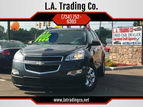 2011 Chevrolet Traverse for sale at L.A. Trading Co. in Woodhaven MI