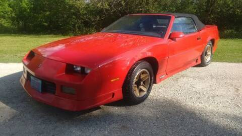 1991 Chevrolet Camaro for sale at Haggle Me Classics in Hobart IN