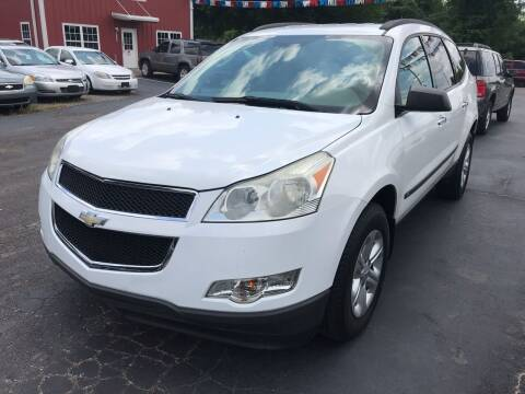 2010 Chevrolet Traverse for sale at Sartins Auto Sales in Dyersburg TN