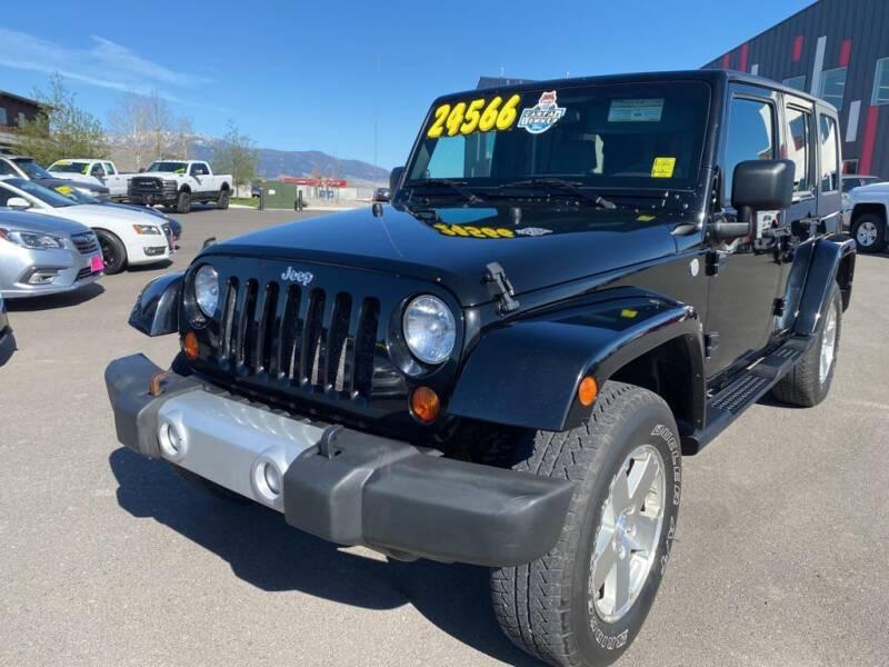 2010 Jeep Wrangler Unlimited for sale at Snyder Motors Inc in Bozeman MT