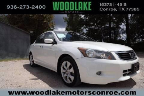 2009 Honda Accord for sale at WOODLAKE MOTORS in Conroe TX