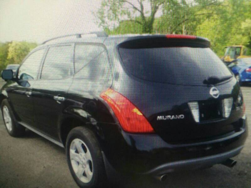 2003 Nissan Murano for sale at Brick City Affordable Cars in Newark NJ
