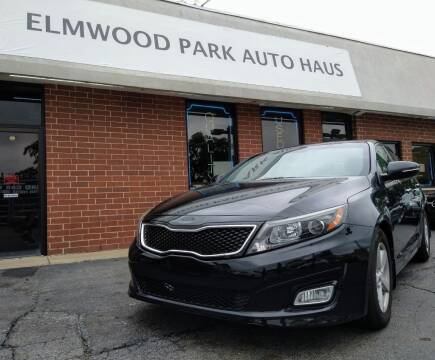 2014 Kia Optima for sale at Elmwood Park Auto Haus in Elmwood Park IL