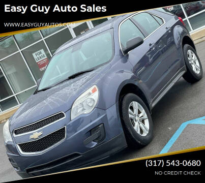 2013 Chevrolet Equinox for sale at Easy Guy Auto Sales in Indianapolis IN