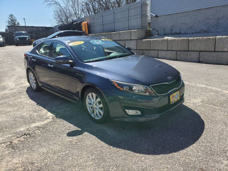 2015 Kia Optima for sale at Fortier's Auto Sales & Svc in Fall River MA