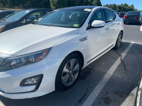 2014 Kia Optima Hybrid for sale at Premier Auto Solutions & Sales in Quinton VA