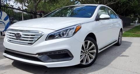 2017 Hyundai Sonata for sale at POLLO AUTO SOLUTIONS in Miami FL
