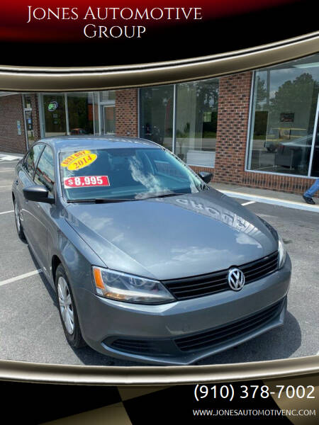 2014 Volkswagen Jetta for sale at Jones Automotive Group in Jacksonville NC