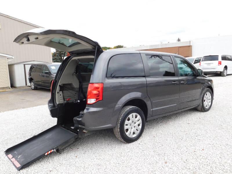 2016 Dodge Grand Caravan for sale at Macrocar Sales Inc in Akron OH