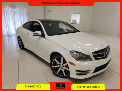 2015 Mercedes-Benz C-Class for sale at Southern Star Automotive, Inc. in Duluth GA