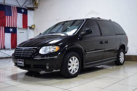 2005 Chrysler Town and Country for sale at ROADSTERS AUTO in Houston TX