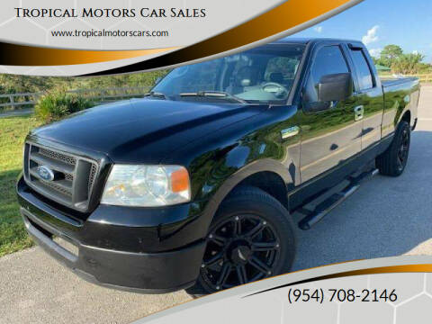 2006 Ford F-150 for sale at Tropical Motors Car Sales in Deerfield Beach FL
