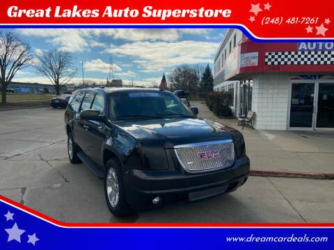 2009 GMC Yukon XL for sale at Great Lakes Auto Superstore in Pontiac MI