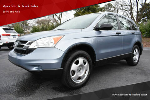 2011 Honda CR-V for sale at Apex Car & Truck Sales in Apex NC